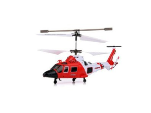 Coast Guard Rescue RC 3.5CH Gyro Helicopter Mini Infrared Remote Controlled SYMA Heli S111G