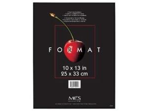 "MCS Plastic Format Frame for a 10"" x 13"" Photograph, Color&#59; Black"