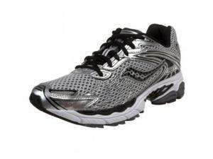 Saucony Men's ProGrid Ride 3 Running Shoe,Silver/Black,9.5 M US