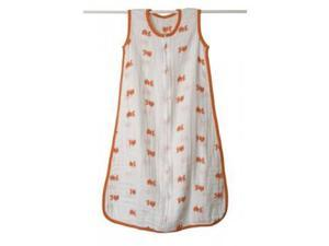 aden + anais Muslin Sleeping Bag - Fish, Medium