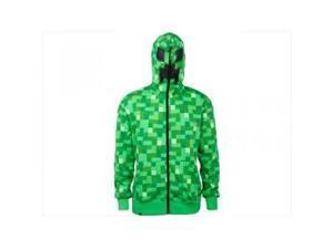 Minecraft Creeper Premium Hoodie, Green