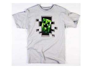 Minecraft Creeper Inside Men's T-Shirt