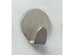 "Magnetic Hooks (Brushed Stainless Steel) (1.25"" Diameter) Pack of 3 Hooks"