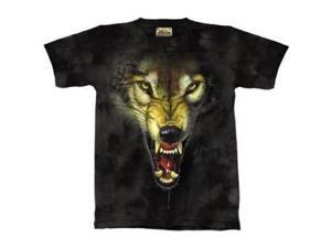 The Mountain The Hunter Wolf Fangs Tee T-shirt Child XL