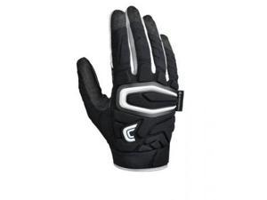 Cutters Gloves Adult The ShockSkin Gamer Streamlined Glove, Black, Large