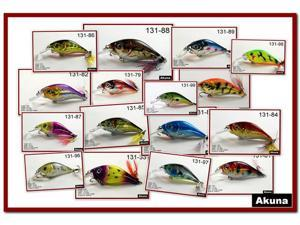 "Lot of 16 3.4"" Hand Painted Holographic Metallic Colors Bass Pike Trout Fishing Lures Crankbaits Tackles"