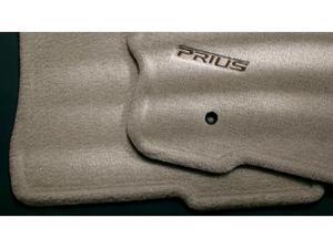 2009 Toyota Prius Carpet Floor Mats - Dark Gray