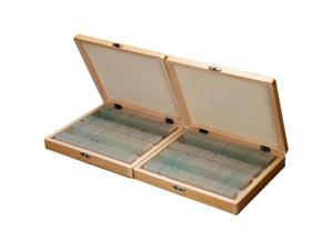 200 PC Prepared Microscope Glass Slide Set