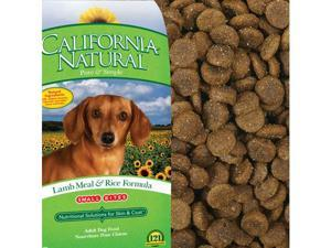 California Natural Dog Food - Lamb & Rice Small Bites 15 lbs