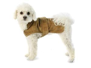 Bristol Dog Coat - Camel Large