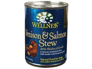 Wellness Dog Canned Stew - Venison & Salmon w/ Carrots & Potatoes