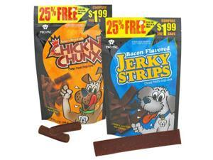 Midwestern Pet Food Dog Treat Bacon Jerky Strip 7.2 Oz