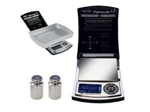 My Weigh - Palmscale 8 Digital Precision Scale 800g x 0.1g Capacity Silver/Black
