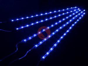 Blue 5*15 LED SMD Waterproof Car Strip Light Flexible