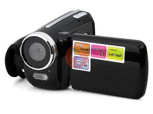 "Mini Digital Video Camera DV Camcorder 12MP 4xZoom 1.8"" LCD Black Color"