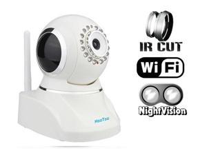 HooToo HT-IP210F Indoor Wireless IP Camera MJPEG CMOS with IR-Cut Filter (White)