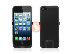 Black 2800mAh External Power Pack Backup Battery Charger Case For iPhone 5