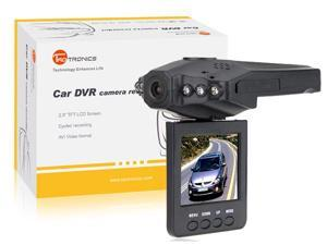 "TaoTronics TT-CD02 2.5"" TFT LCD HD Car DVR Camera Recorder with 6 IR LED Night Vision"