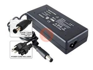 Replacement AC Adapter + Power Supply Cord (90W / 19V / 4.74A) for HP Compaq Pavilion dv4 dv5 dv6 dv7 HP Compaq Presario ...
