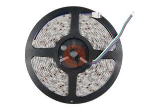 5M 5050 RGB 150 LED Strip Light Waterproof IP65 with 44 Key IR Remote Controller