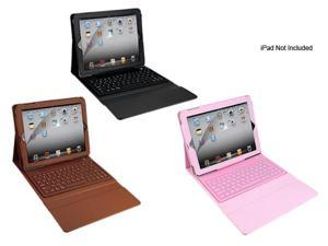 TaoTronics TT-BK01 Bluetooth 3.0 Keyboard PU Leather Case Stand w/ Screen Protector for ipad 2 / the New ipad