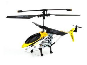 Sunvalley 2010-1 2.5 CH Mini Infrared RC Crash-Resistant Helicopter w/ Metal Frame (Yellow)