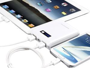 RAVPower RP-PB07U Super High Capacity Power Bank (12000mAh Capacity / 1A & 2.1A Dual USB Output) for iPod, iPhone, Smartphones, Digital Cameras, Tablets and E-Books