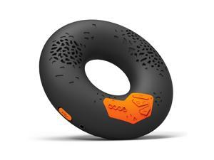 CODE Donut Premium Portable Wireless Bluetooth Speaker with NFC Tag (Black, Enhanced Bass, Built-in Speakerphone, 8-hour ...