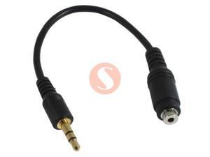 3.5mm Male to 2.5mm Female Stereo Audio Cable