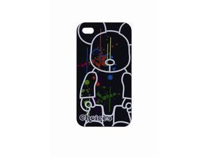 Choicee*Qee Iphone4 / 4S Faceplate Black