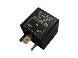 3-Pin CF-13 Electronic Flasher Relay Fix For LED Turn Signal Light Bulbs