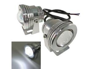 iJDMTOY Super White High Power 10W LED Projector Fog Lights Lamps For Car SUV Truck