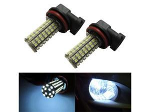 iJDMTOY 96-SMD H11 H8 LED Fog Lights/DRL Replacement Bulbs, Xenon White
