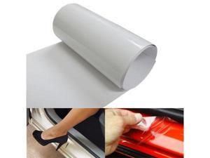 6 by 60 Inches Clear Door Sill Paint Protection Scratch Film Vinyl Sheet