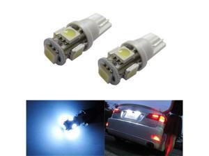 iJDMTOY 5-SMD LED License Plate Light Bulbs - Xenon White