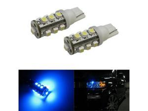 iJDMTOY 13-SMD-1210 168 194 2825 LED Bulbs For Parking City Lights, Ultra Blue