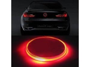 iJDMTOY Brilliant Red 82mm BMW Trunk Hood Emblem Background Lighting Kit For BMW 1 3 5 6 7 Series X3 X5 X6 Z4, etc