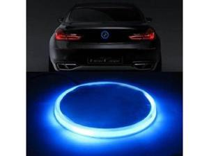 iJDMTOY Ultra Blue 82mm BMW Trunk Hood Emblem Background Lighting Kit For BMW 1 3 5 6 7 Series X3 X5 X6 Z4, etc