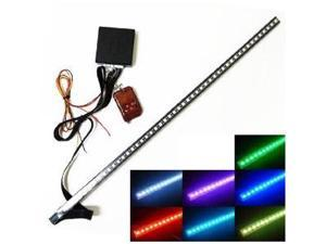 iJDMTOY 20 inches 48-LED RGB LED Knight Rider Scanner Lighting Bar For Car Under Hood, Grille, or Interior, etc