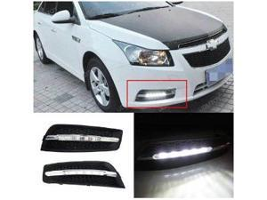 iJDMTOY Exact Fit W204 Style 10W High Power LED Daytime Running Light Kit For 2011 2012 2013 Chevrolet Cruze
