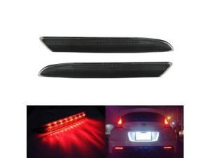 Honda CR-Z CR-V Insight Acura TSX Wagon Black Smoked Lens LED Bumper Reflector Lights