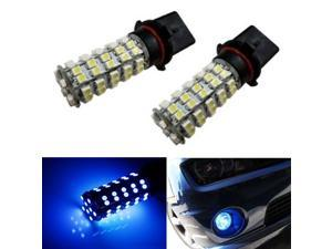 iJDMTOY 68-SMD P13W LED Fog Lights/DRL Replacement Bulbs, Ultra Blue