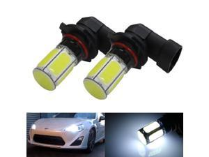 iJDMTOY (2) HID Matching White 5W COB 9005 LED Bulbs For 2013-up Scion FR-S High Beam For Daytime Running Lights