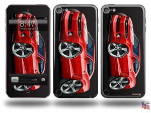 2010 Camaro RS Red Decal Style Vinyl Skin - fits Apple iPod Touch 5G (IPOD NOT INCLUDED)
