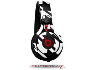 Houndstooth Black and White Decal Style Skin (fits genuine Beats Mixr Headphones - HEADPHONES NOT INCLUDED)