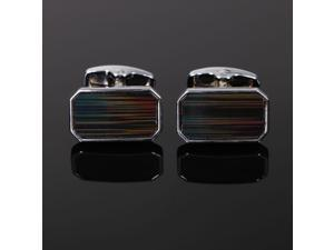 Simplicity Men's Classic Ornate Cufflinks - Rectangle