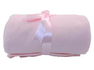 Wholesale Lot 4 Mixed Colors Elegant Solid Color Baby Infant Newborn Throw Blankets Hot Sale - Pink