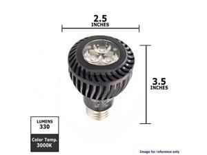 GE 7W 120V E26 PAR20 White LED Light Bulb