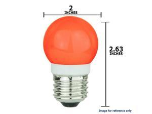 SUNLITE 1w G16 19LED, Red Medium Base Bulb