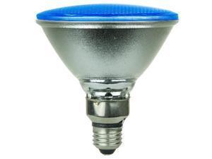 SUNLITE 8w PAR38 130LED, Medium Base Blue Bulb